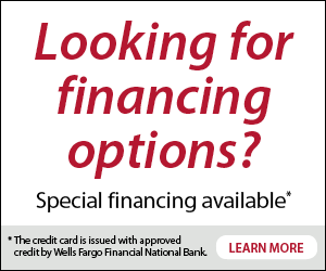 AC Installation and repair specials financing Wells Fargo