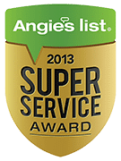 Angies List 2013 Super Service Award