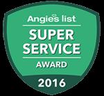Angies List 2016 Super Service Award