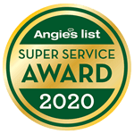 Angies List 2020 Super Service Award