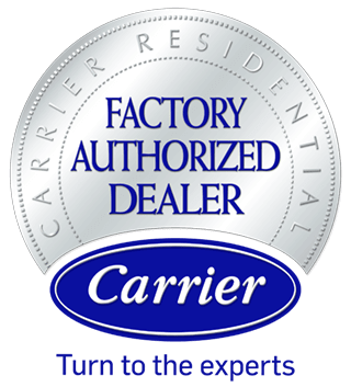 logo Carrier Factory Authorized Dealer