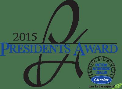 Carrier Presidents Award