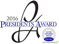 2016 Carrier Presidents Award
